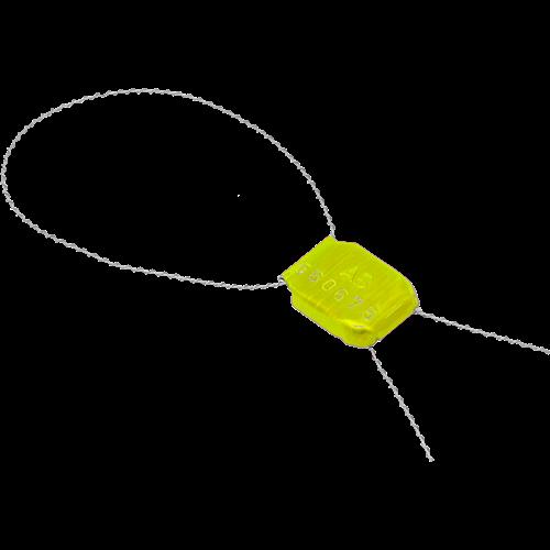 Пломба защелка Крабсил Цветной - фото 4809