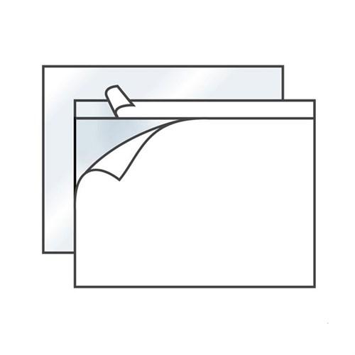 ПАКЕТ DOCUFIX С6 160*110 мм для сопроводительных документов А6 - фото 5514