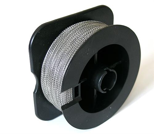 Проволока пломбировочная Спираль 0.5 мм, 100 м, нейлон/сталь - фото 5728