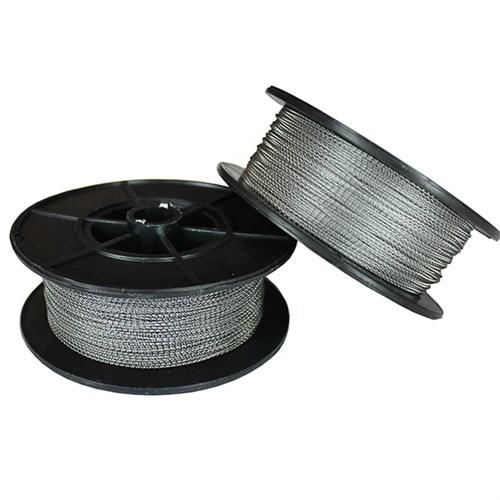 Пломбировочная проволока Спираль 0.5 мм, 250 м, нейлон/сталь - фото 5730