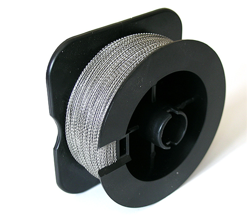 Проволока пломбировочная Спираль 0.5 мм, 100 м, сталь/сталь - фото 5791