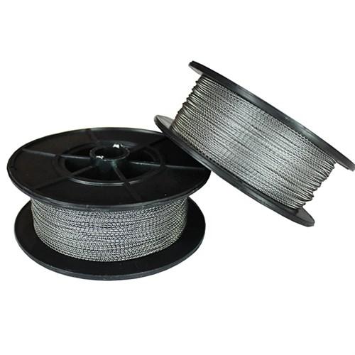 Проволока пломбировочная Спираль 1.0 мм, 400 м, сталь/сталь - фото 5802