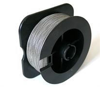 Проволока пломбировочная Спираль 0.5 мм, 100 м, нейлон/сталь
